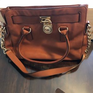 Authentic Michael Kors Hamilton Satchel